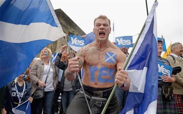 分裂主义时代:苏格兰独立恐慌吗?