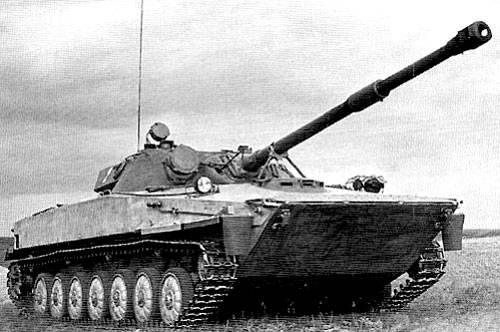 """实验性两栖坦克""""对象M906"""""""