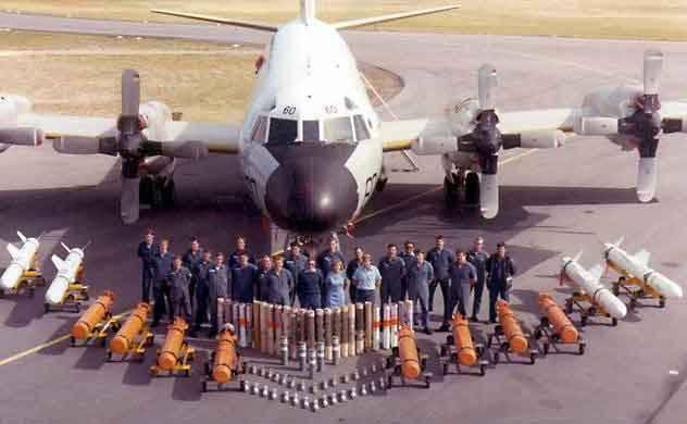 """Avion de patrouille de base P-3 """"Orion"""""""