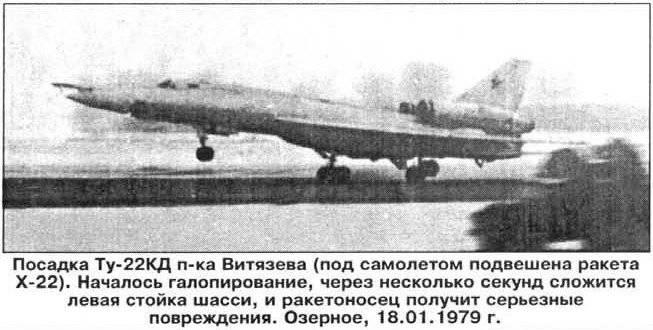 Tu-22. Con stelle rosse sulle ali