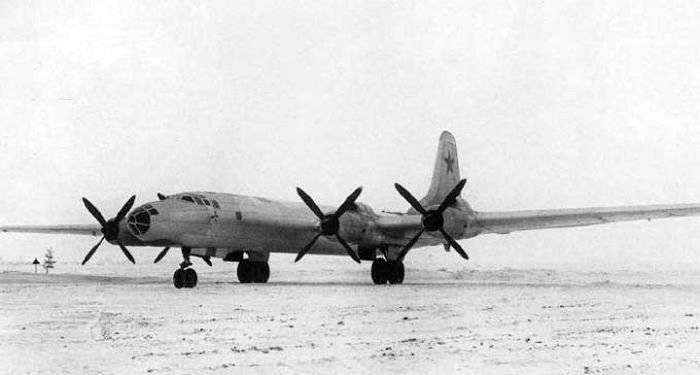 Battello intercontinentale Tupolev - Oggetto 504