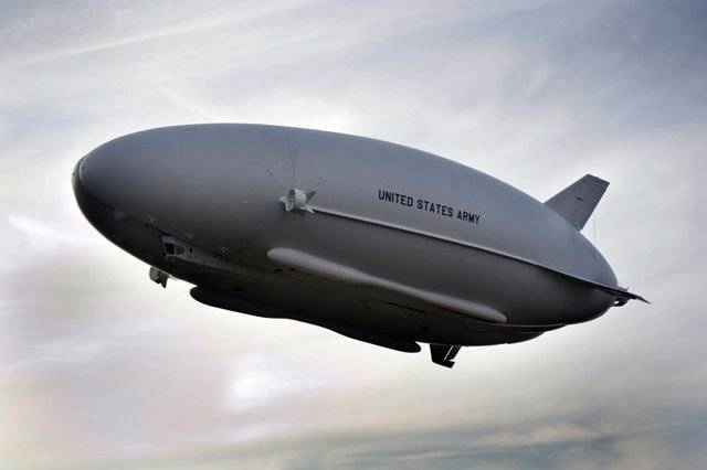 "The program of US military airships ""blown away"""