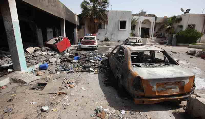 Ливия: «…нигде нет спасенья»