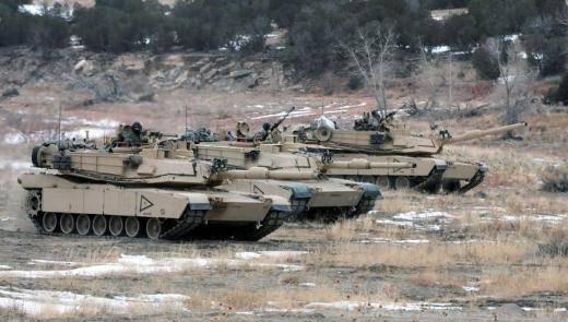Los tanques Abrams estarán equipados con un motor diesel con potencia 1630.