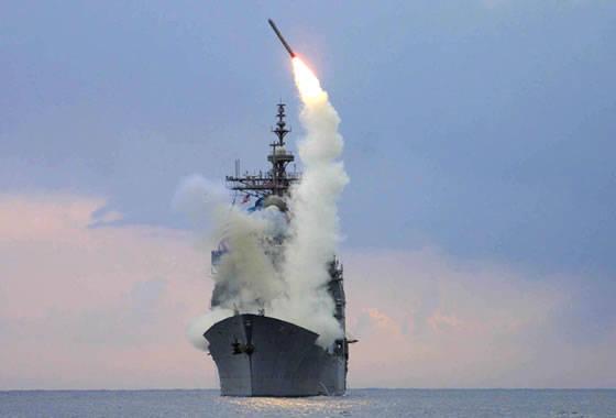 """회사 """"Reyteon""""은 미 해군 3000 - KR KR """"Tomahawk""""Blok.4"""