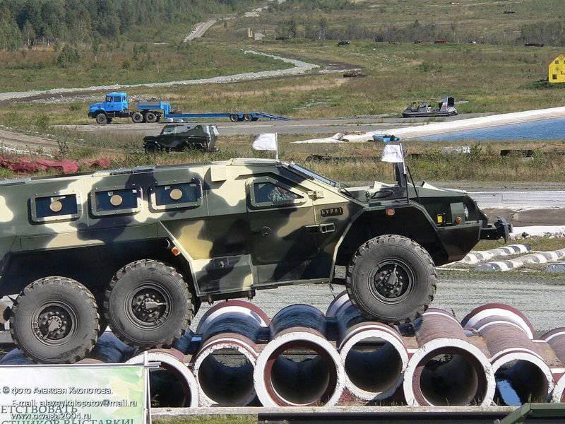 """Zashchita公司完成了装甲车SBA-60K2""""Bulat""""的开发"""