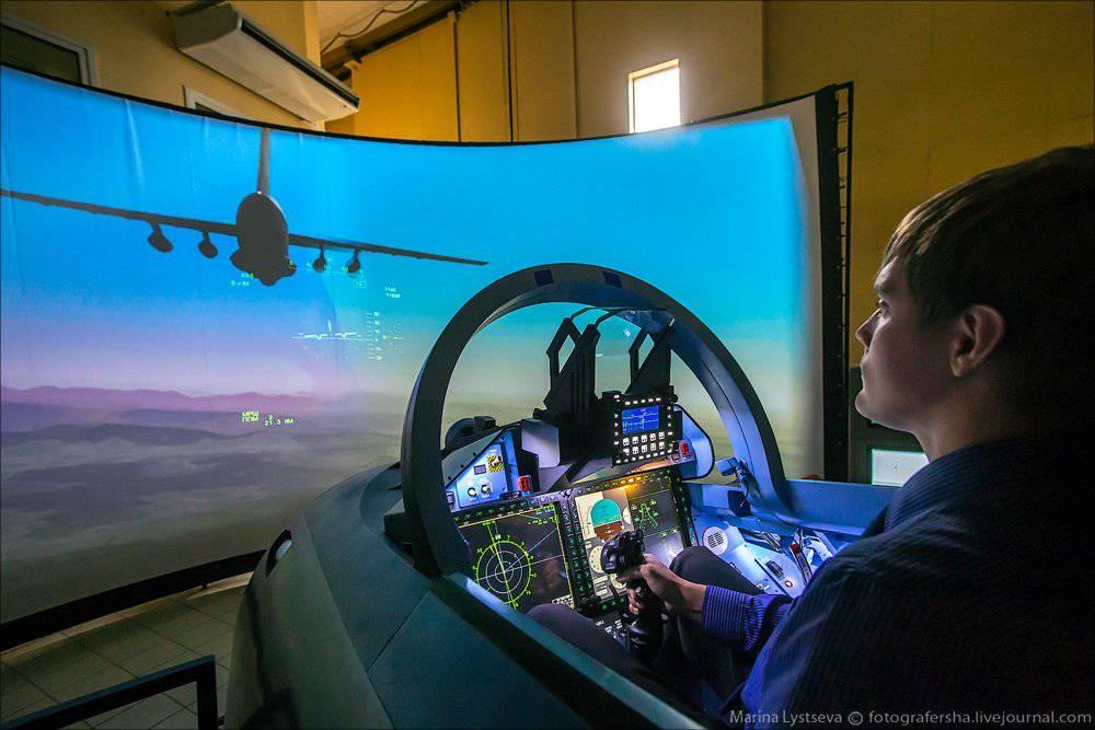 Подарок управление самолетом тренажер 87