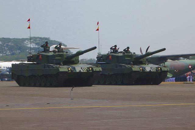 Rheinmetall इंडोनेशिया में 103 तेंदुए-2A4 टैंक और 43 Marder-1A3 BMP वितरित करेगी