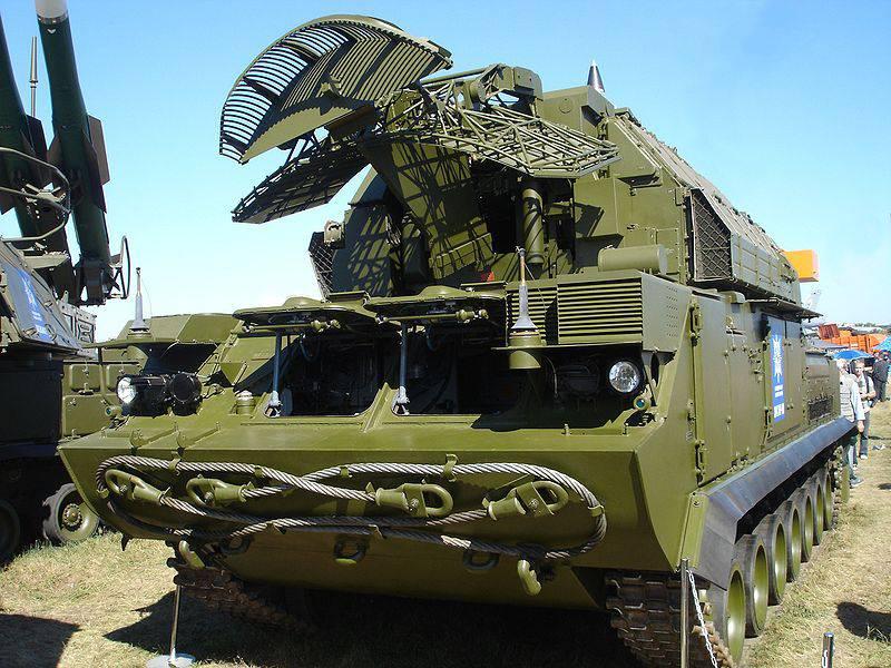 Tor-M2高精度防空系统在俄罗斯创建
