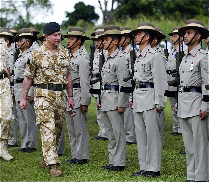 is gurkhas a mercenary