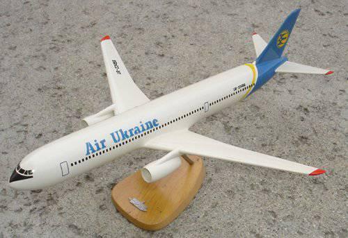 ワイドボディミッドレンジ旅客機An-218のプロジェクト