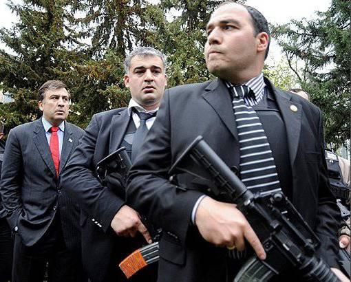 Saakashvili는 Georgia에서 운영됩니까?