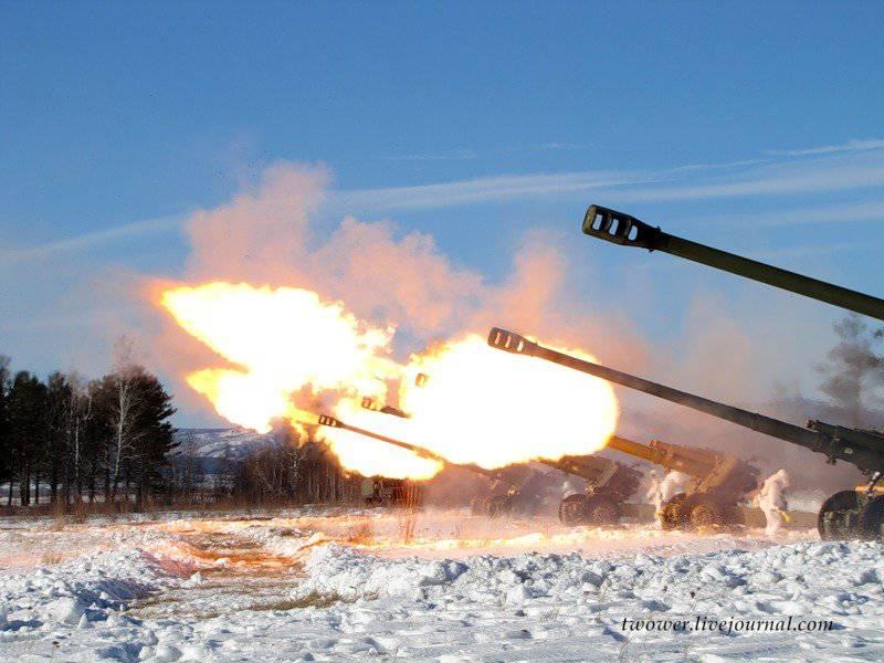 November 19 - Tag der Raketentruppen und Artillerie