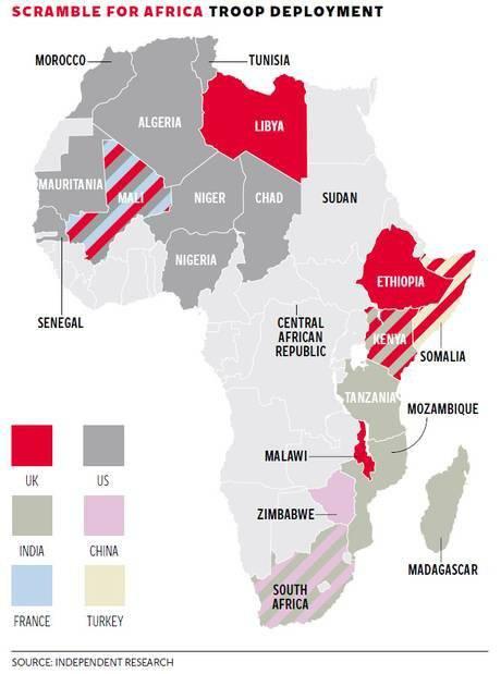 Oeste quer África