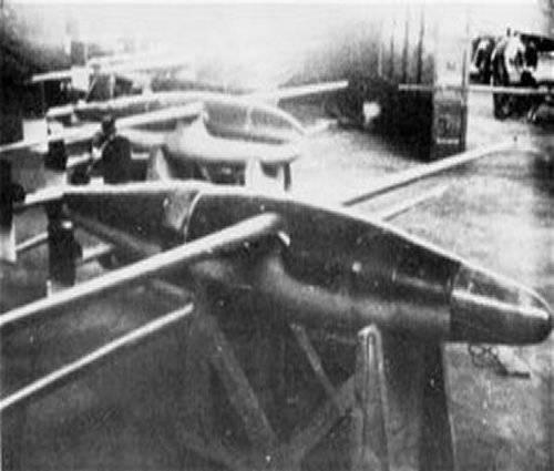 Управляемые бомбы Blohm und Voss BV-226 и BV-246 Hagelkorn (Германия)