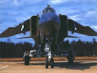 Modernisation en ruine du MiG-23