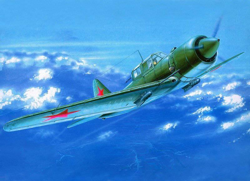 Aviones de ataque Su-6