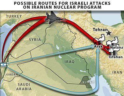 イラン対 イスラエル