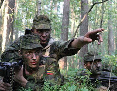 攻撃の際には、リトアニア軍が戦術を発表