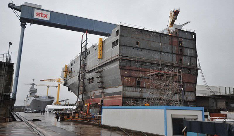 """मातृभूमि के बिना जहाज। रूसी """"मिस्ट्रल"""" का निर्माण कौन करता है?"""