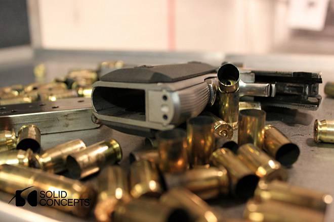 La pistola stampata sulla stampante 3D ha resistito a colpi 500