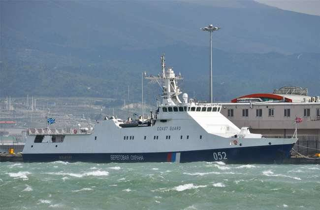 FSB ordered another 3 border patrol ship project 22460