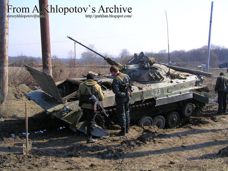 Минная война на дорогах Чечни