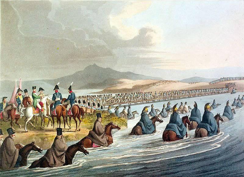 올해의 세계 전쟁 1812에서 코사크. 파트 II. 나폴레옹의 침략과 망명