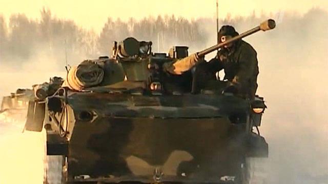 Stato dell'esercito russo in 2012