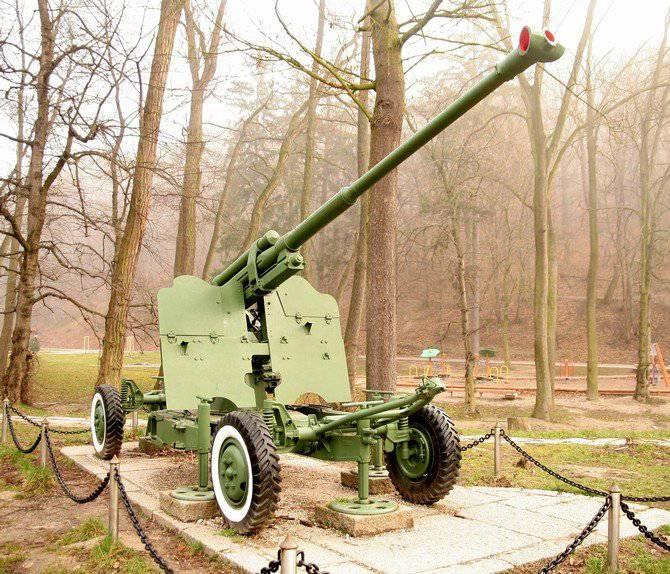 Artilharia antiaérea soviética pós-guerra. Parte 1
