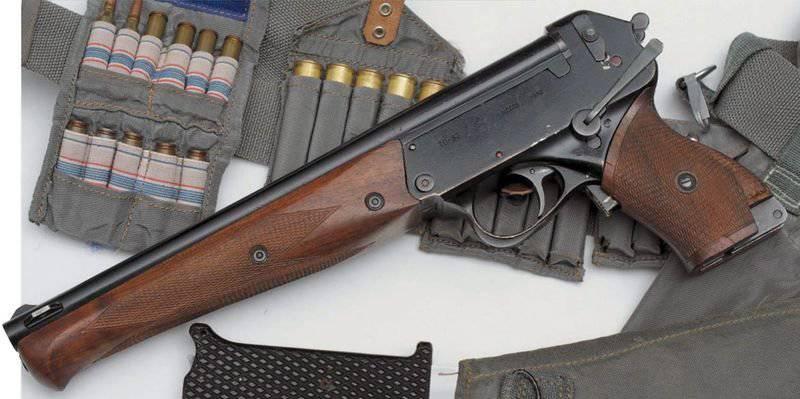 Armas de sobrevivência de astronautas: pistola TP-82