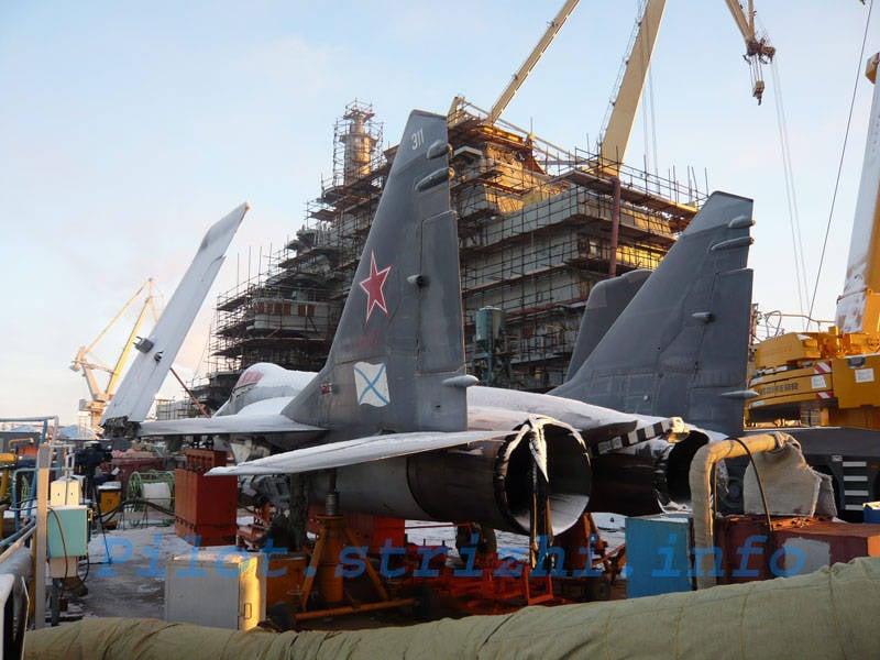 俄罗斯海军的航空母舰:机会,建议和建议