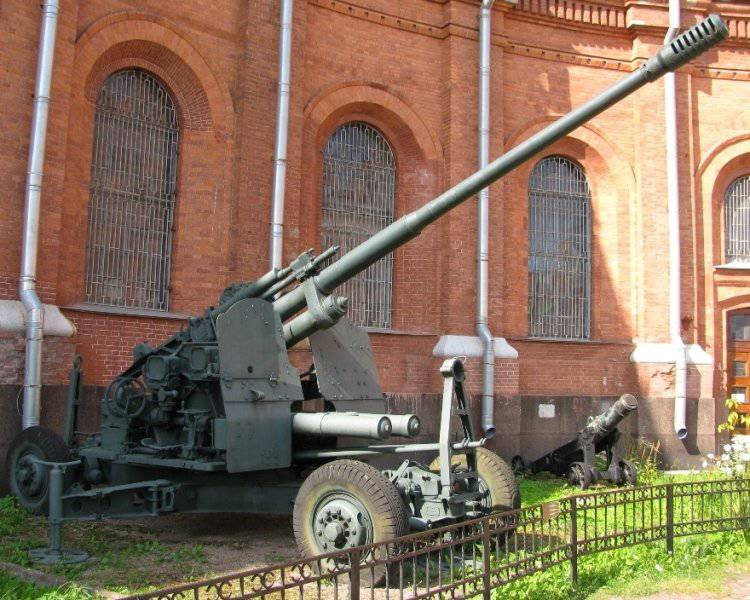 Post-war Soviet anti-aircraft artillery. Part 2