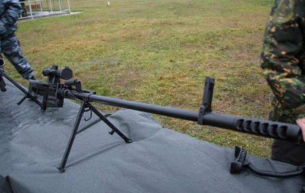 Rus özel kuvvetleri silah veya büyük kalibre keskin nişancı tüfeği