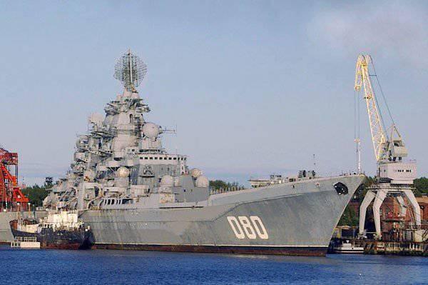 """""""제독 Nakhimov""""는 2018-2019의 러시아 해군으로 돌아갈 것입니다."""