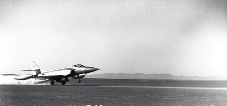 Amerikaner erfahrener Kämpfer Lockheed XF-90