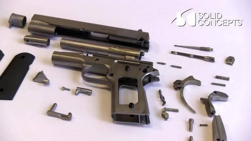 Как создать пистолет в домашних условиях