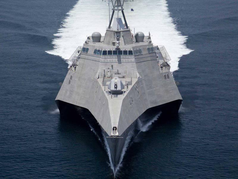 Новые корабли американского флота. 2013 год