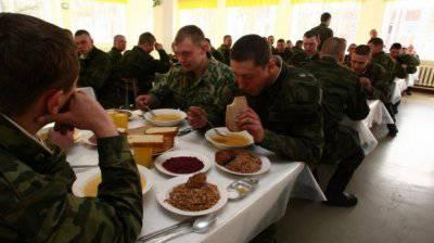Солдат не уйдет голодным
