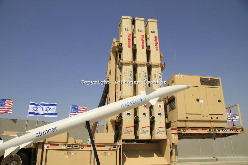 Израиль провел вторые испытания комплекса ПРО «Шарвит Ксамим