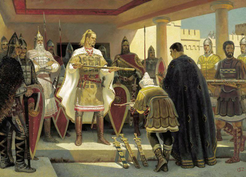 Война Святослава с Византией. Битва при Аркадиополе