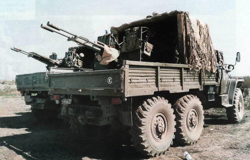 ПВО. Послевоенная советская зенитная артиллерия. Часть 2-я