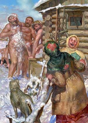 Peripetias de baño