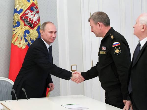 Verteidigung für die Zukunft. Wladimir Putin fasste die Aufrüstung der Armee zusammen