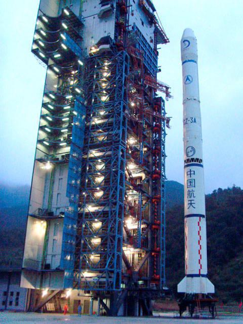Os chineses lançaram no espaço seu primeiro veículo lunar