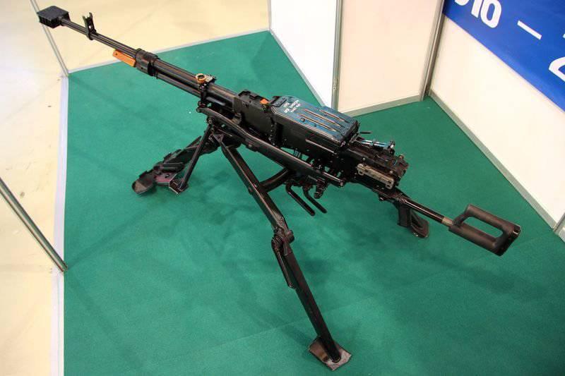 Российский крупнокалиберный 12,7-мм пулемет «Корд»