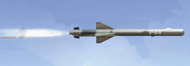 O projeto do complexo de mísseis multifuncionais Lockheed Martin P44