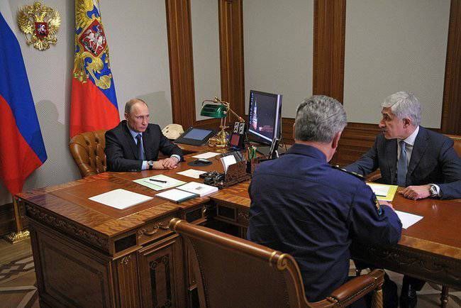Vladimir Putin discussed the development prospects of the Russian Air Force