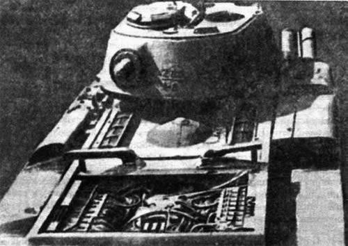 Char expérimental soviétique EKV