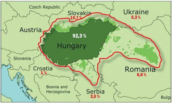 हंगरी ट्रांसकारपाथिया प्राप्त करना चाहता है